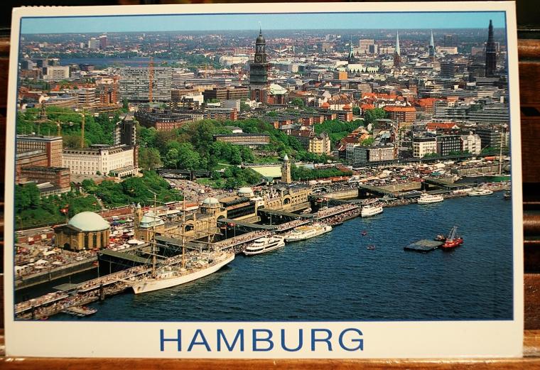 Postkarte aus Hamburg